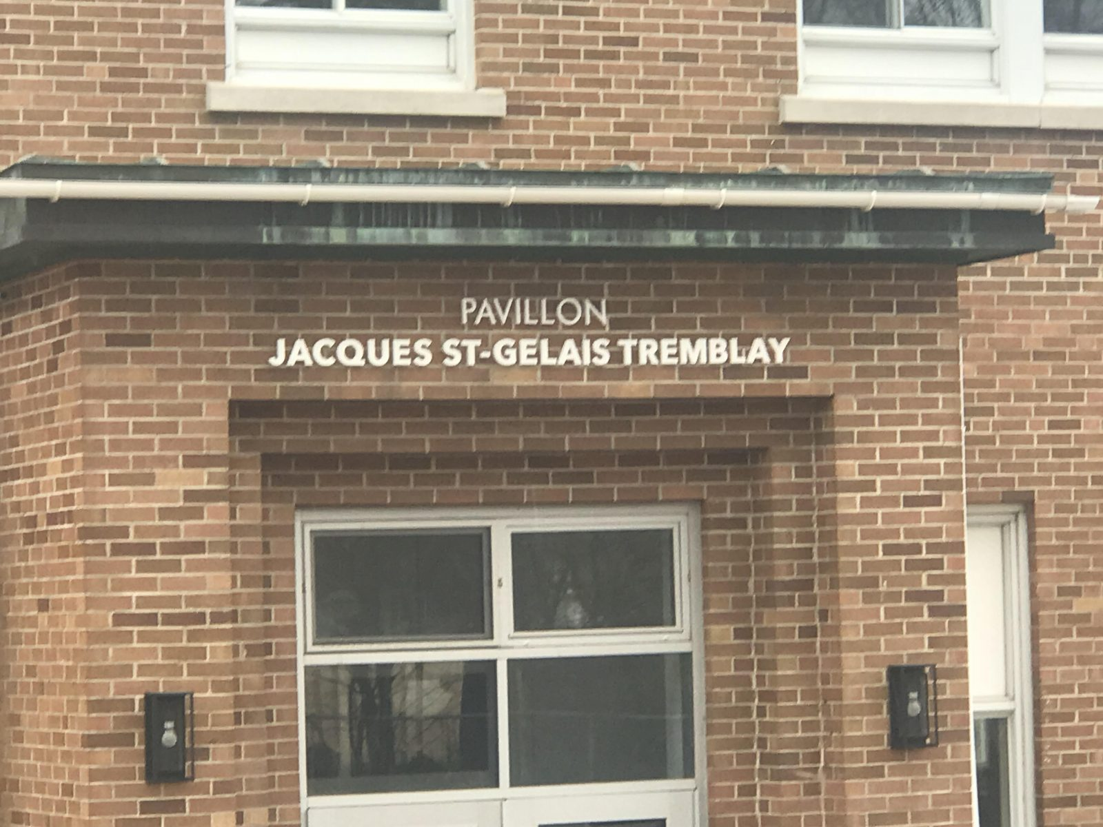 L'école Thomas-Tremblay devient le Pavillon Jacques St-Gelais Tremblay