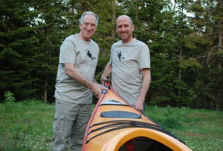 De Goose Bayà Blanc Sablon en kayak