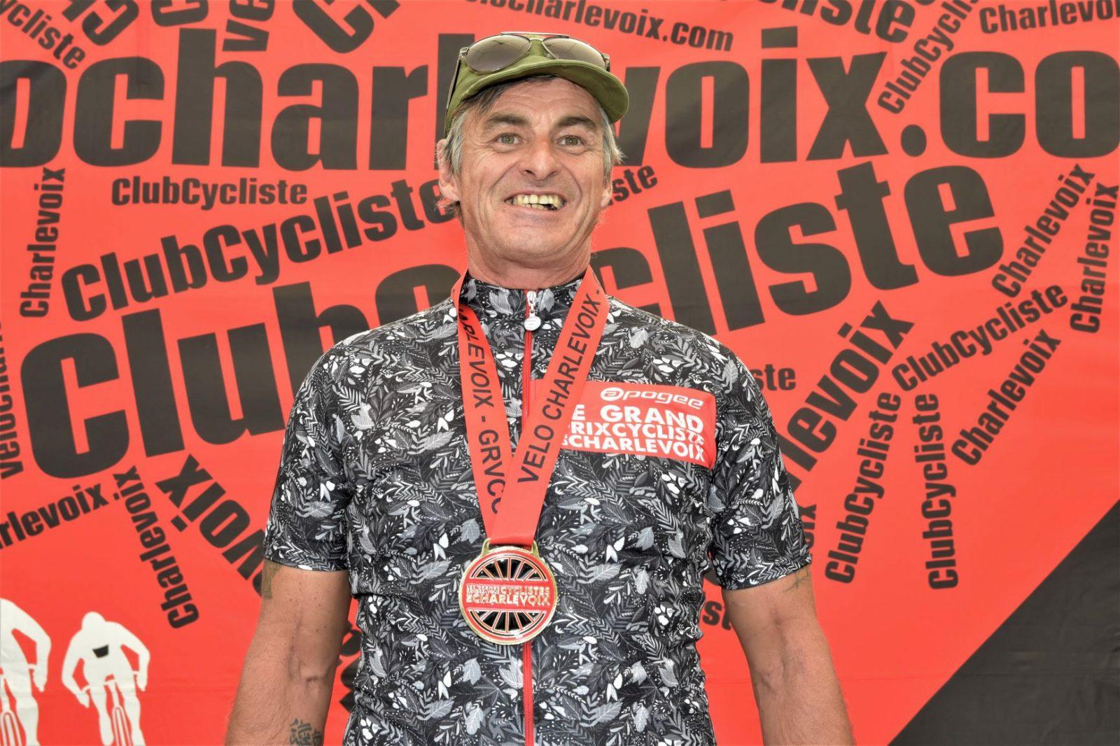 Robin Harvey remporte l'or au Granfondo