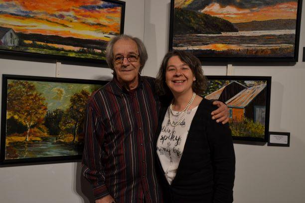 René Amyot présente l'exposition «La Quête»