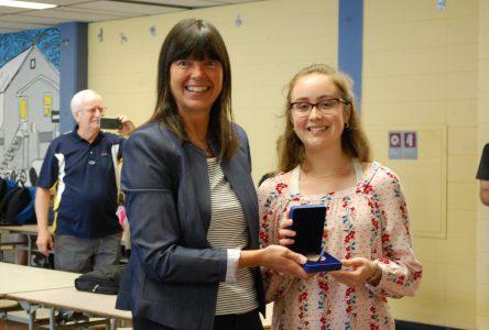 Noémie Turcotte remporte la médaille du Gouverneur général