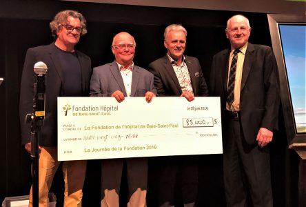 85000$ pour la Journée de la Fondation