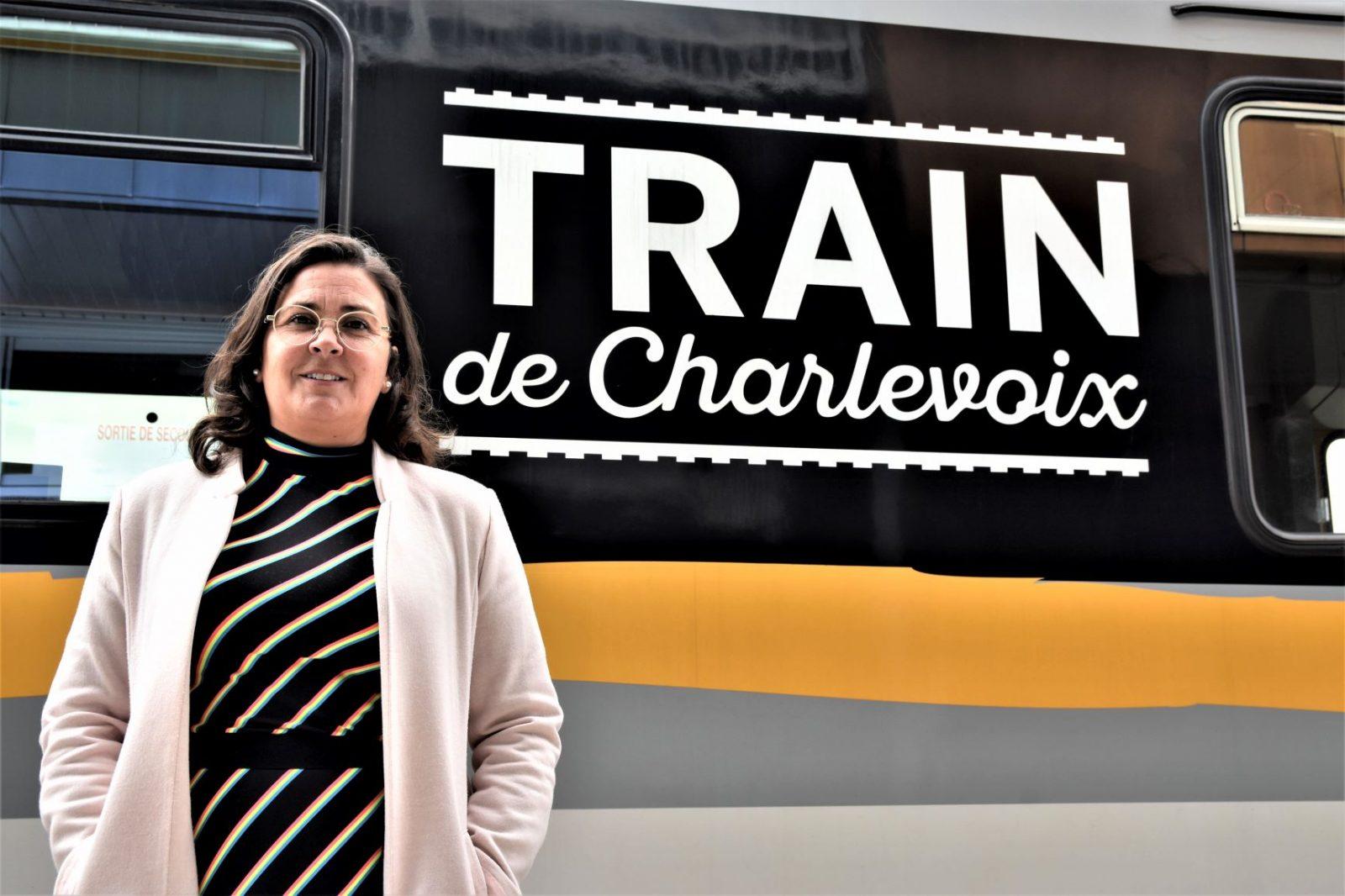 Train de Charlevoix: le p'tit chouchou du Château Frontenac