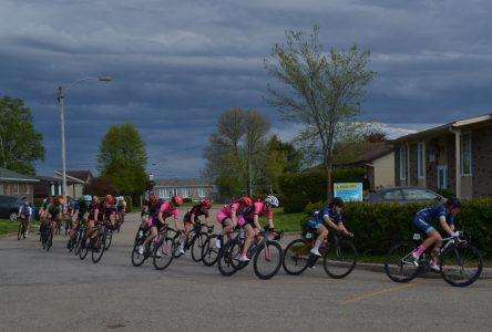 Le Grand prix cycliste est commencé