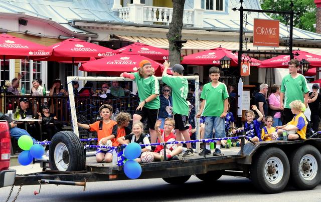 Défilé de la St-Jean : créer votre char allégorique