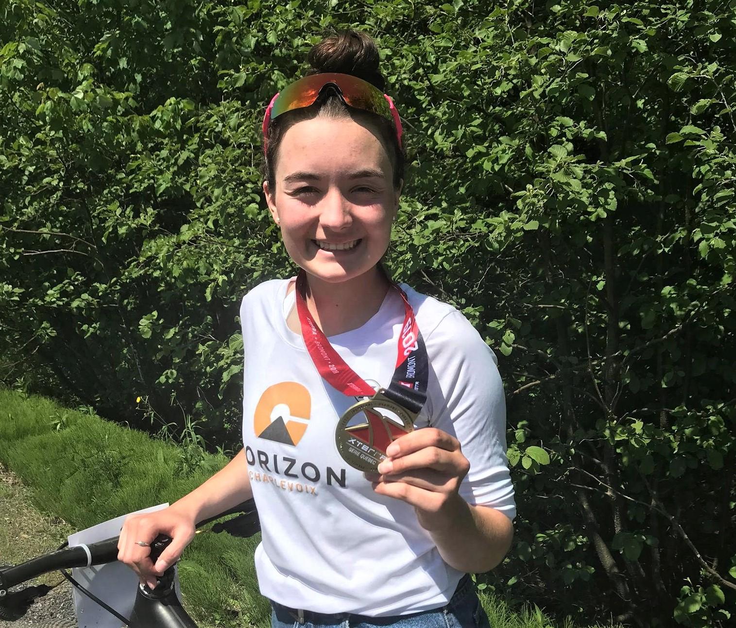 Jeanne Desmeules remporte le bronze à Bromont