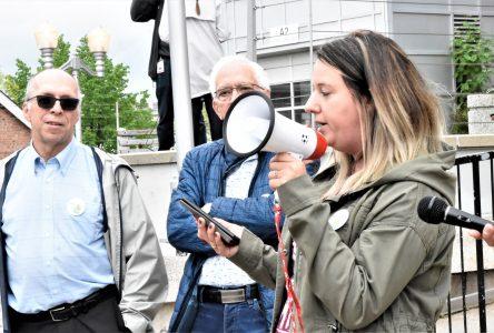 Cindy Lajoie rencontrera le PDG du CIUSSS
