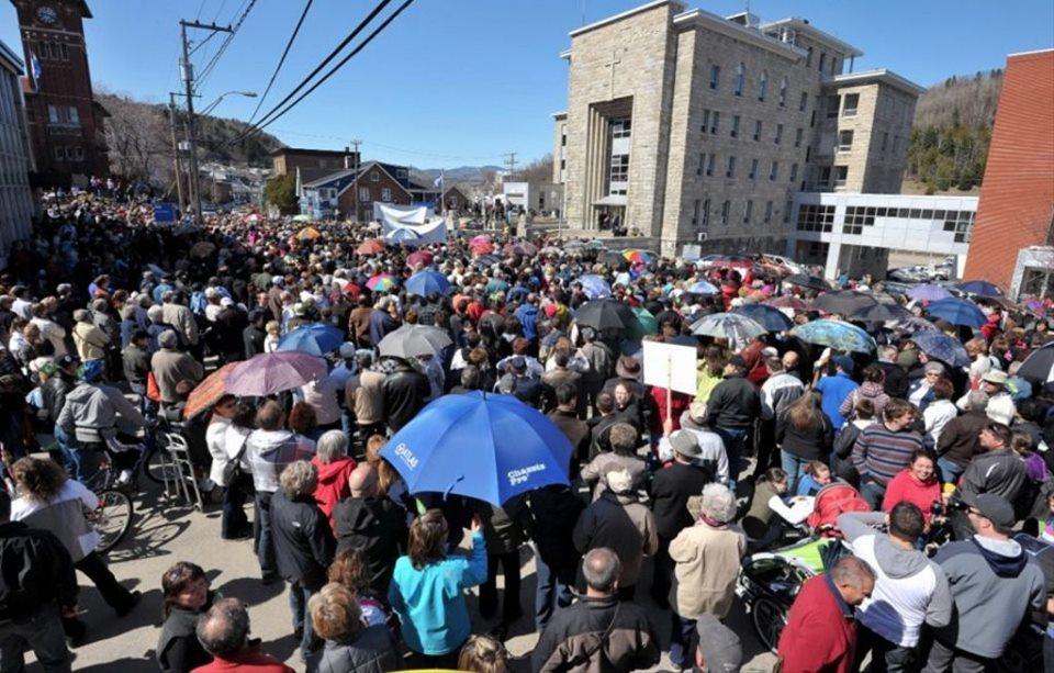Plusieurs employés de l'Hôpital de La Malbaie marcheront samedi