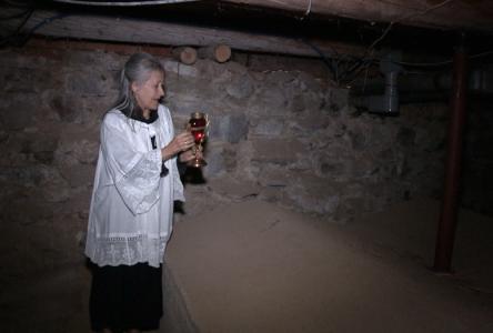 (Vidéo) Entrez dans la crypte de Sainte-Agnès