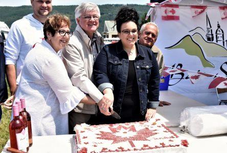 Baie-Saint-Paul fête le Canada