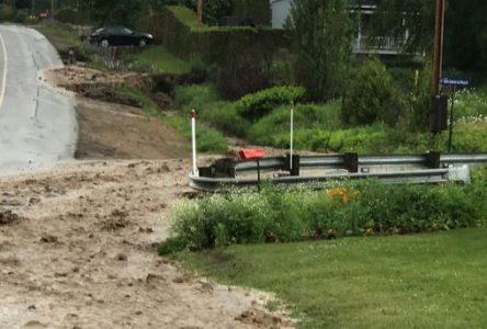 Fortes pluies : Baie-Saint-Paul évalue les dommages à 300 000 $