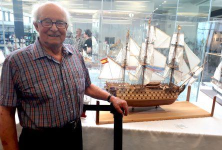 Le modéliste Jean-Claude Tremblay expose à La Malbaie