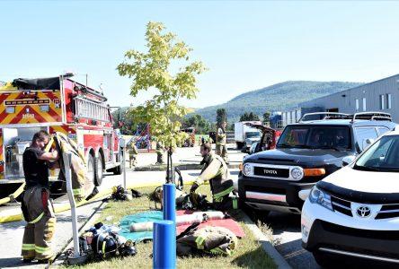 La fuite de gaz est colmatée chez Simard Suspensions