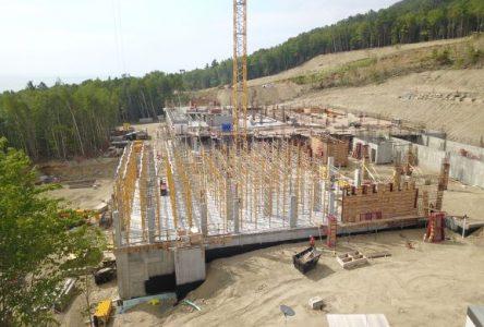 Le chantier de l'hôtel du Club Med avance