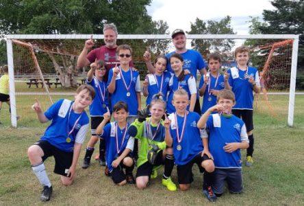 Tournoi de soccer : deux équipes de Baie-Saint-Paul sont championnes