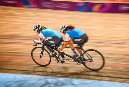 Annie Bouchard et Évelyne Gagnon 6 ième en course sur route