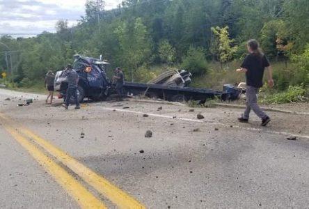 (Mise à jour) Accident à Petite-Rivière-Saint-François