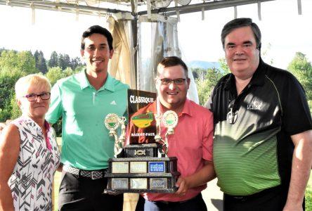 Classique du Golf Le Loup: Félix-Antoine Froment et Guillaume Vaita remportent la coupe