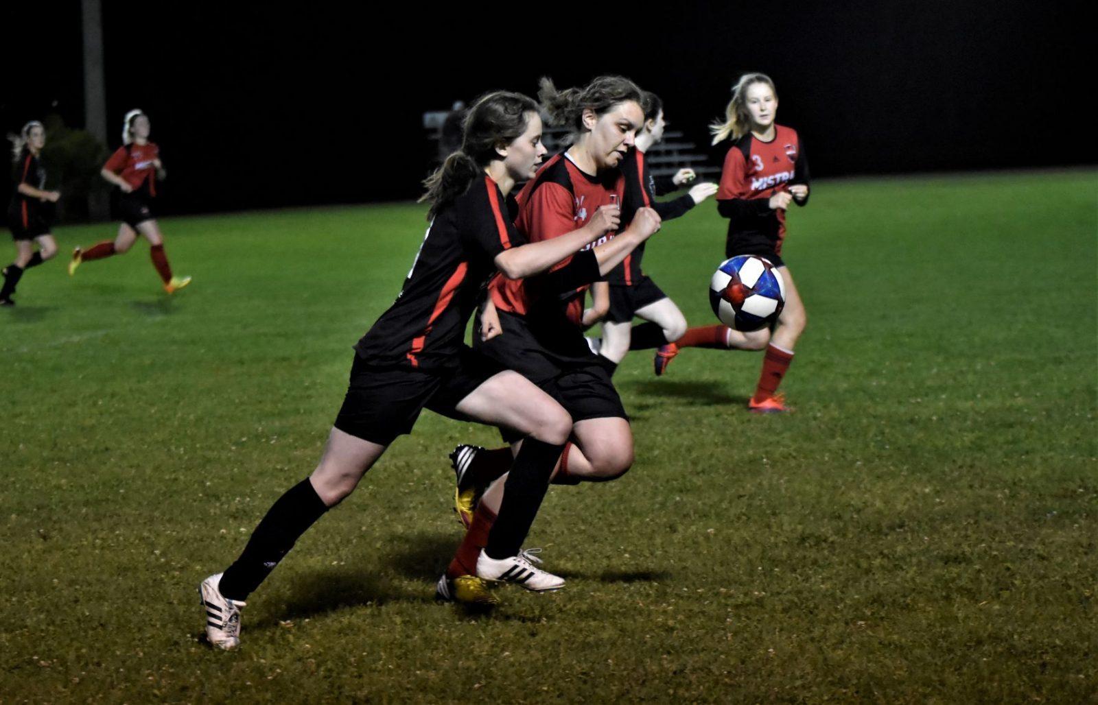 Soccer féminin senior A : les Louves essuient un blanchissage