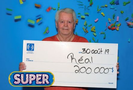 Réal Larouche gagne 200 000 $