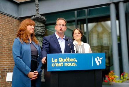 Le chef du Bloc québécois sera à La Malbaie lundi