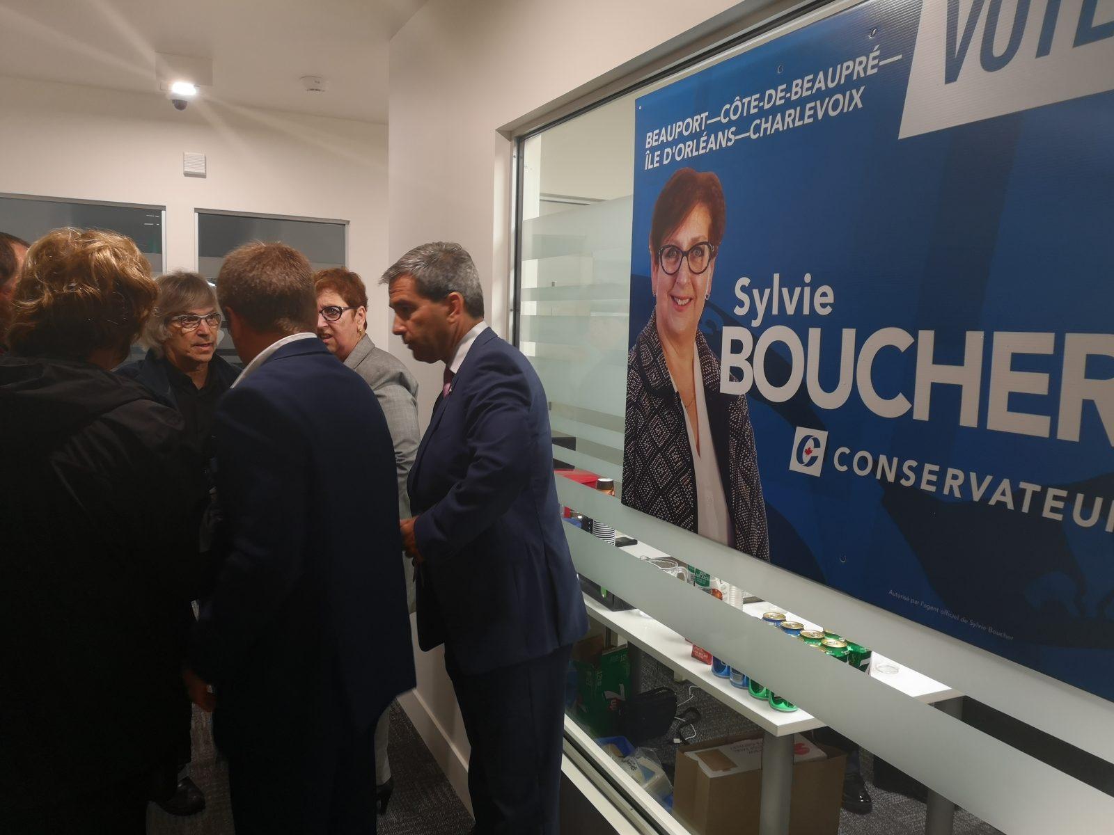 La campagne électorale de Sylvie Boucher est officiellement lancée
