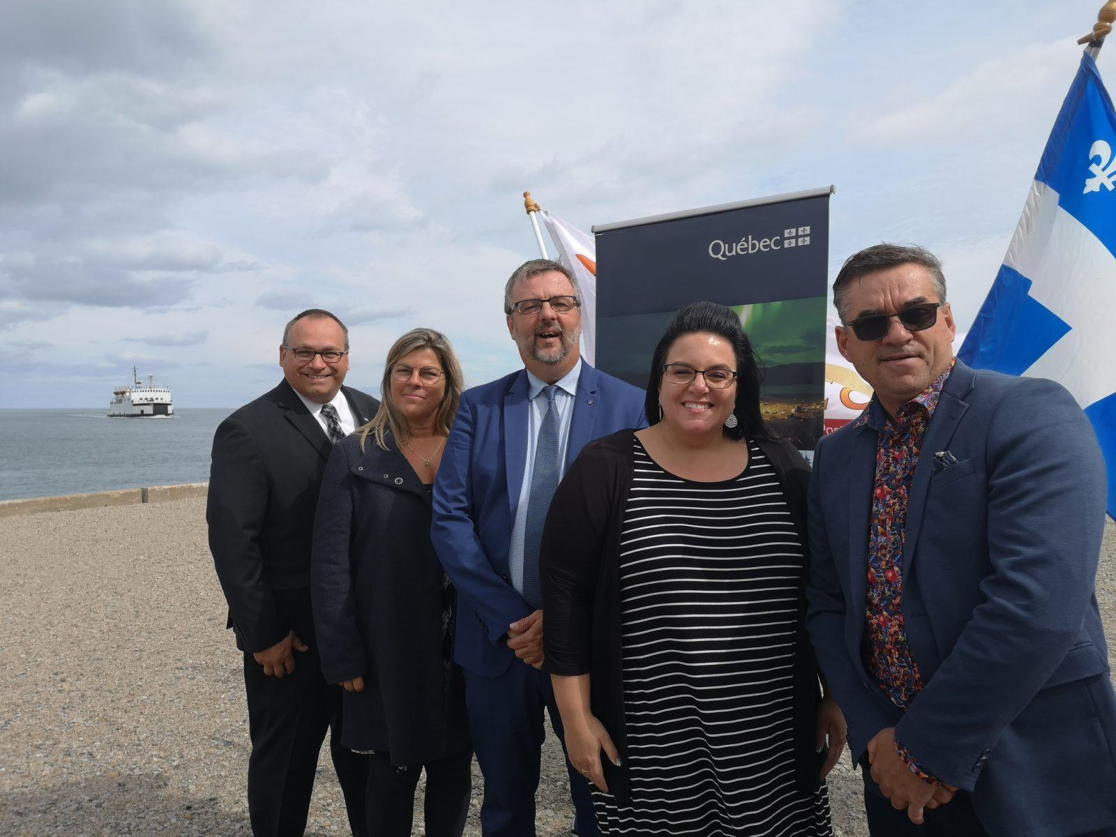 60 000 $ pour le quai brise-lame de Saint-Siméon