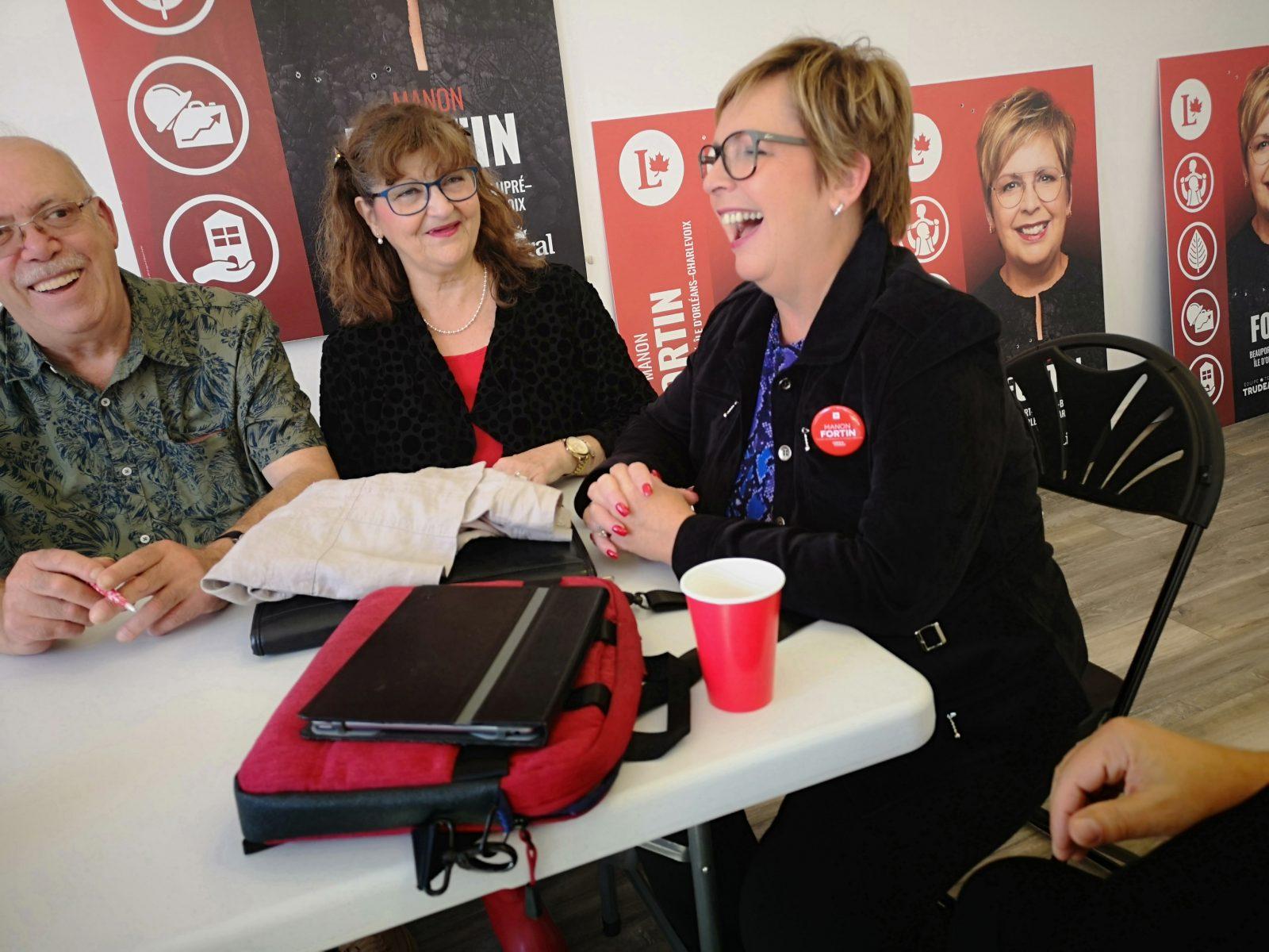 Manon Fortin veut une couverture égale de sa large circonscription