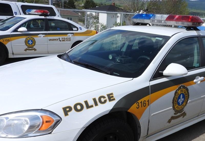 Un camion citerne s'est renversé à Saint-Tite-des-Caps