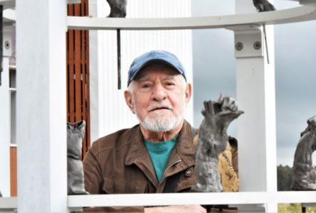 René Derouin est à l'honneur à Baie-Saint-Paul