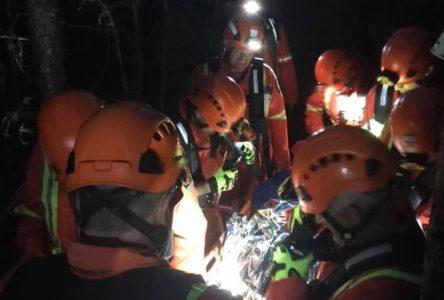 Les pompiers volontaires de Charlevoix font le tour du web