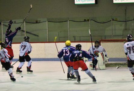 Hockey mineur Charlevoix: défaite des Rorquals pee-wee BB