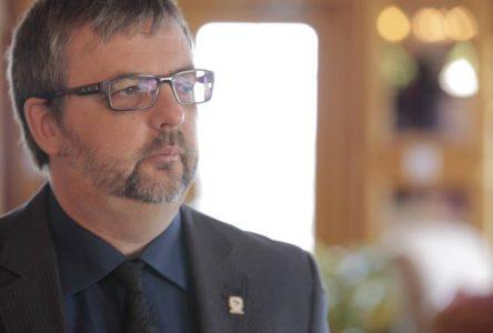 Sylvain Tremblay réélu sans opposition comme préfet de la MRC de Charlevoix-Est