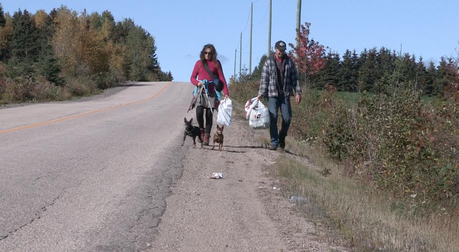 (Vidéo) Des déchets sauvages au bord de nos routes