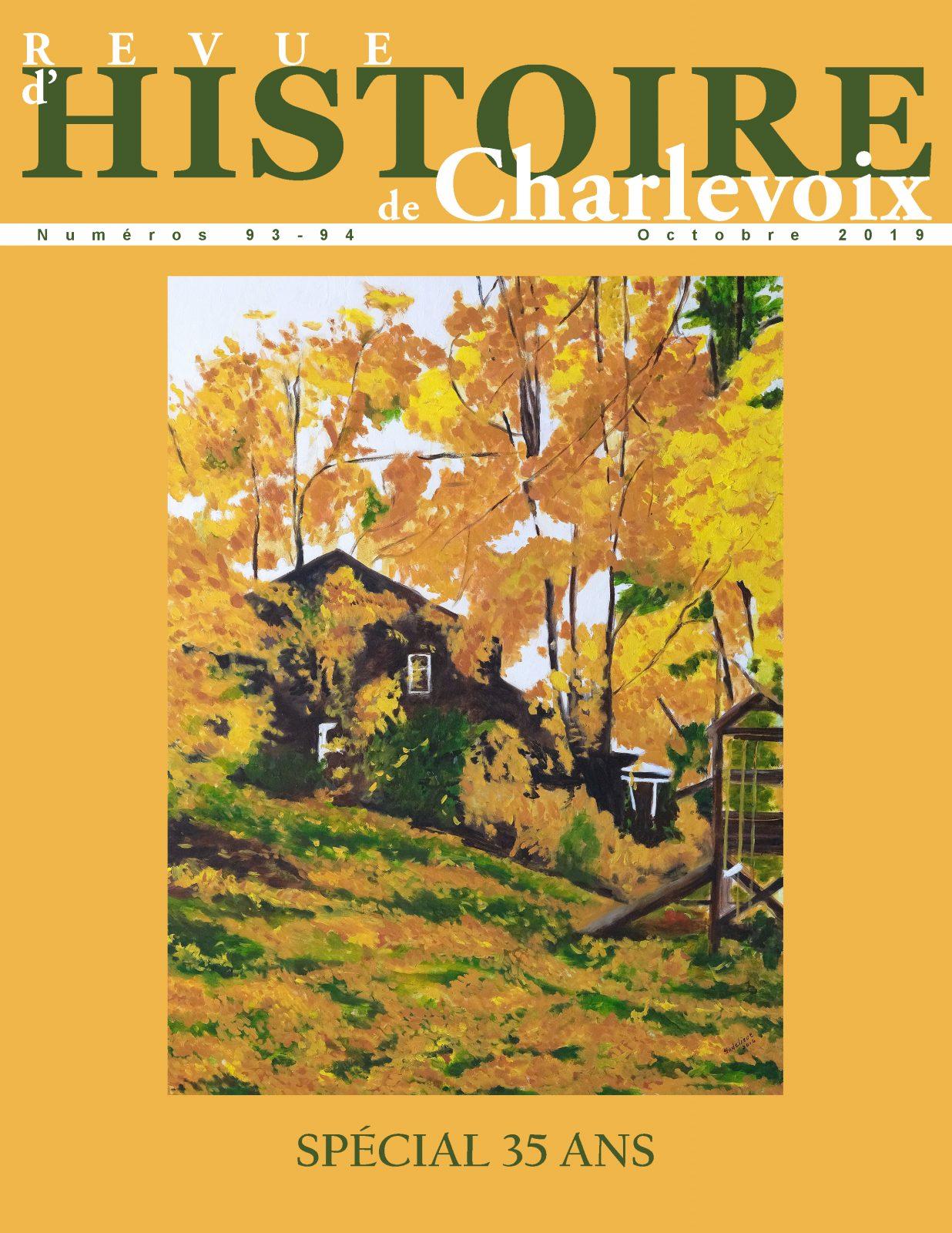 La Revue d'Histoire de Charlevoix célèbre ses 35 ans avec un double numéro