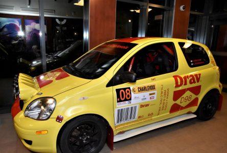 Le Rallye de Charlevoix fait tirer… une voiture de rallye