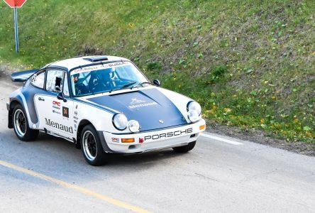 Rallye de Charlevoix: les équipes de la région tirent de l'arrière