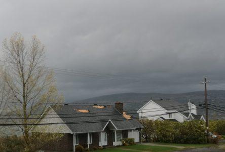Les pompiers de La Malbaie débordés par la tempête