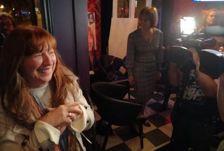 Caroline Desbiens a festoyé avec les siens