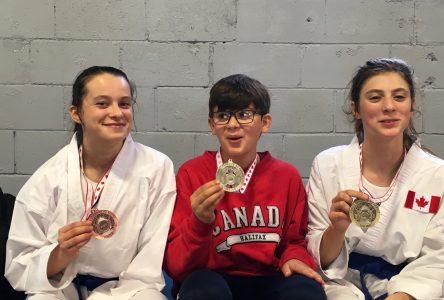 Karaté: trois médailles pour Charlevoix à Montréal