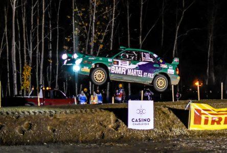 Rallye de Charlevoix: la spéciale Clermont en images