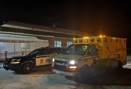 Séance violente: la mairesse est évacuée en ambulance