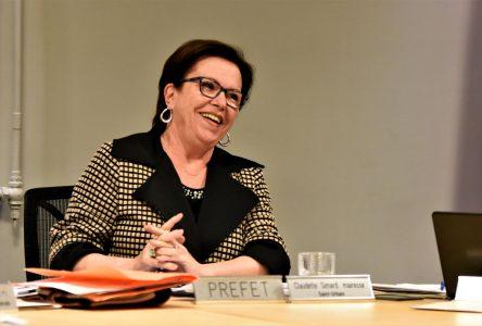 Claudette Simard réélue préfète