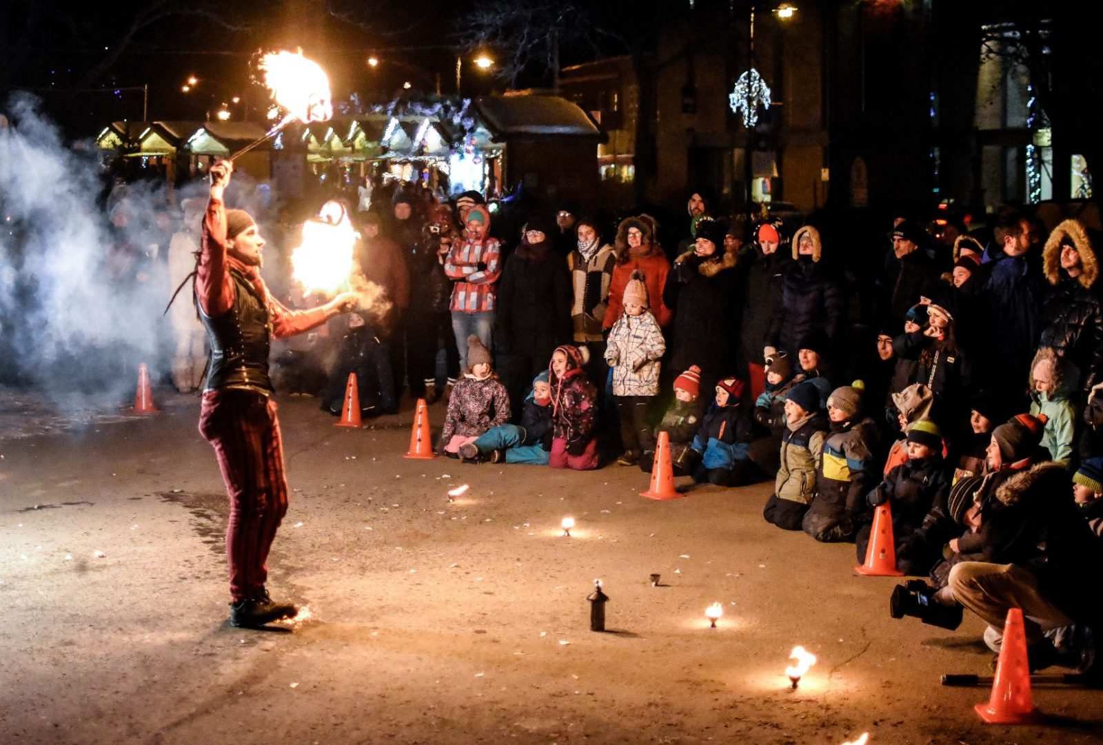 L'ouverture du Marché de Noël en images (vidéo du spectacle)