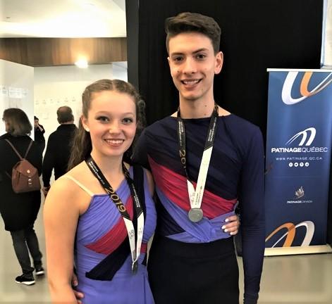 Olivia Tremblay et Émile Couture participeront au Défi de patinage Canada