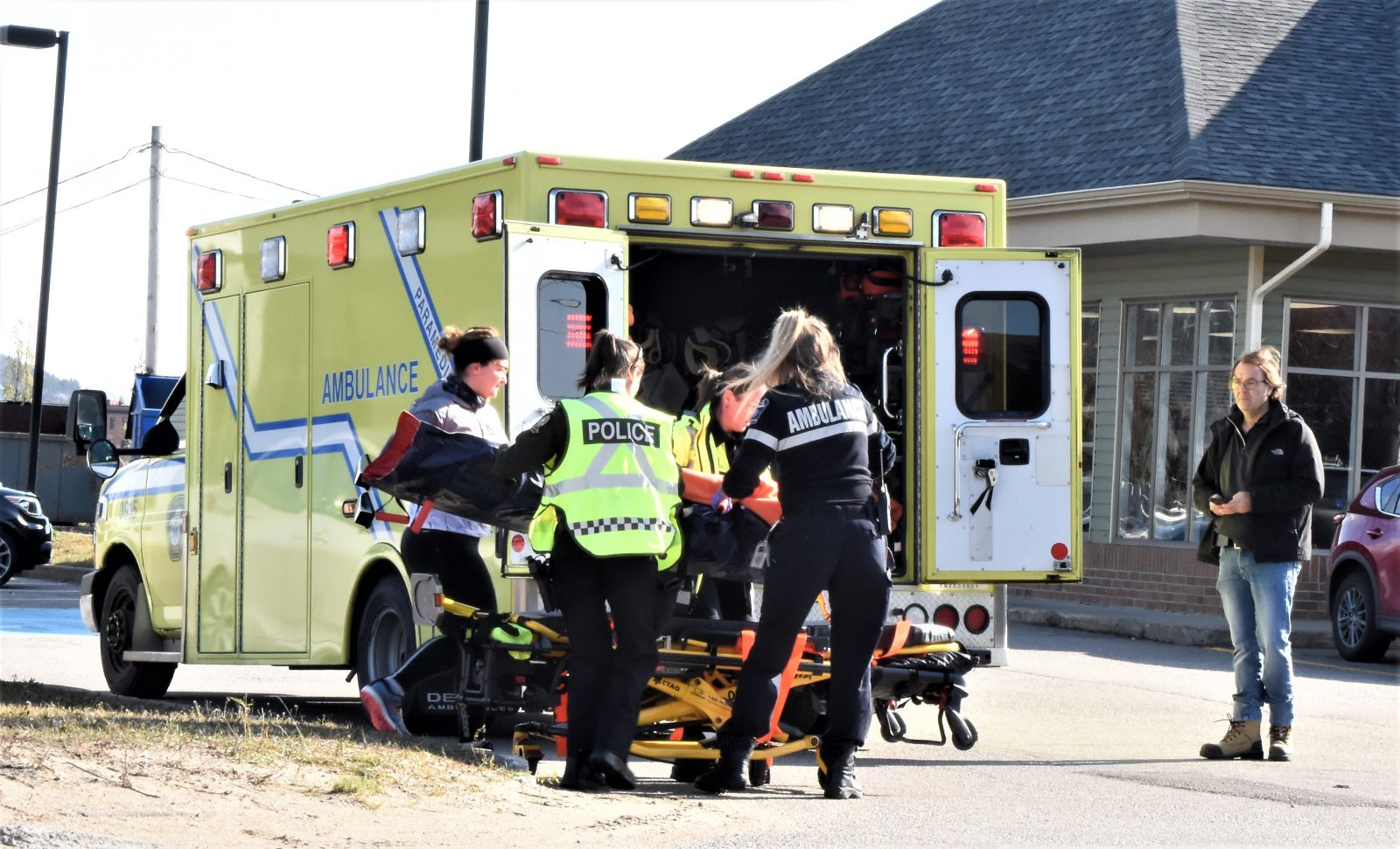 Accident sur la 138 à Baie-Saint-Paul (mise à jour)