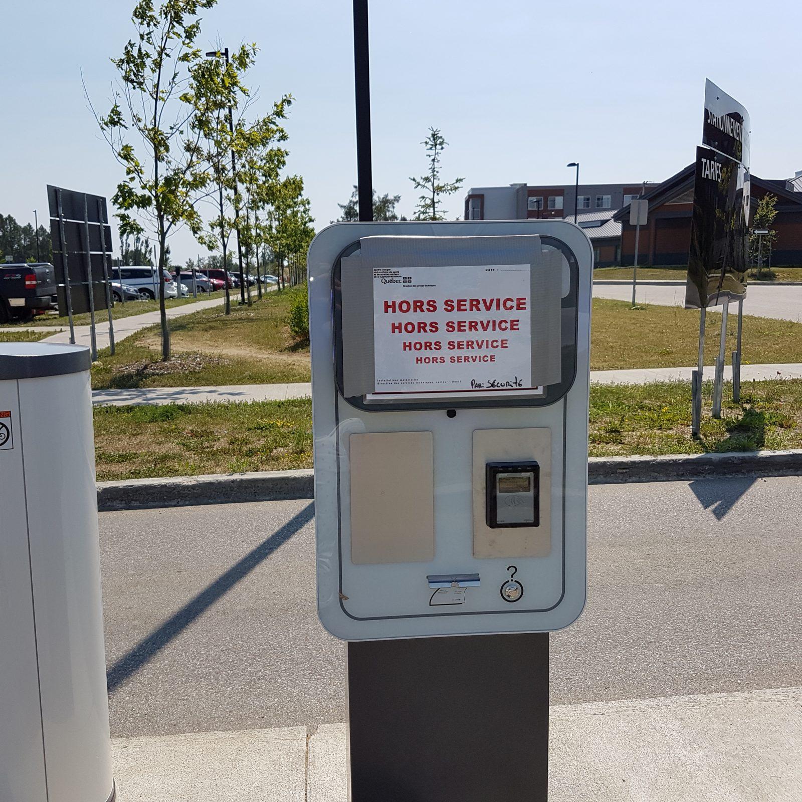 Stationnements de l'Hôpital de Baie-Saint-Paul : le tarif minimum de 7 $ sera chargé