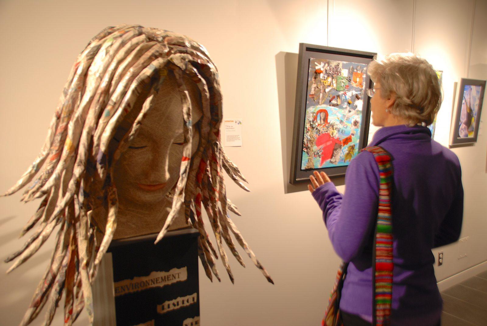 Artistes recherchés pour l'exposition Visu' Elles
