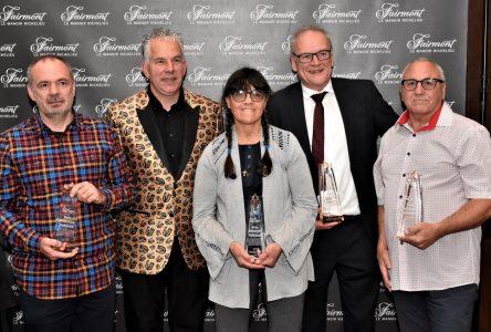 Diane Amyot, Benoît Bradet, Patrice Savard et Claude Miville honorés au souper du FRIL