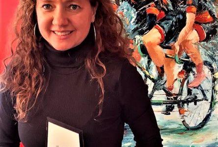Annie Bouchard honorée par la Fédération québécoise de sports cyclistes